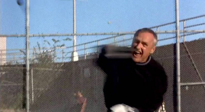 Dennis Hopper plays handball