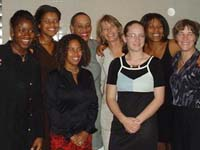 Women Players at the ICHA Awards Ceremony