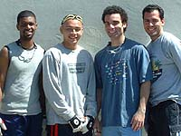 Semi-finalists in 2003 YMCA Men's Singles.