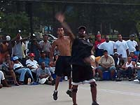 Semi-final match in 2003 King of the Courts.