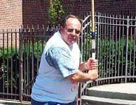 Arturo Lopez at the 2000 Stickball World Series